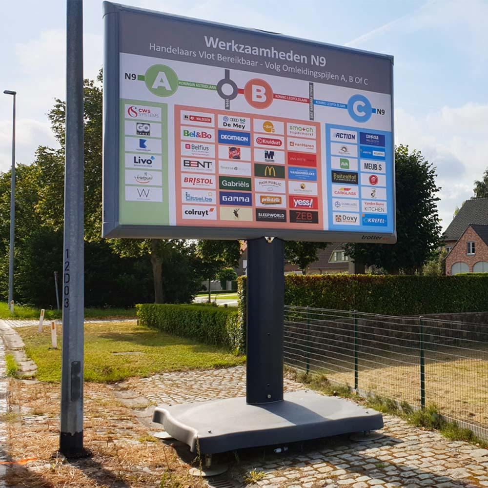 project met wegen en verkeer trotter belgië 1000x1000