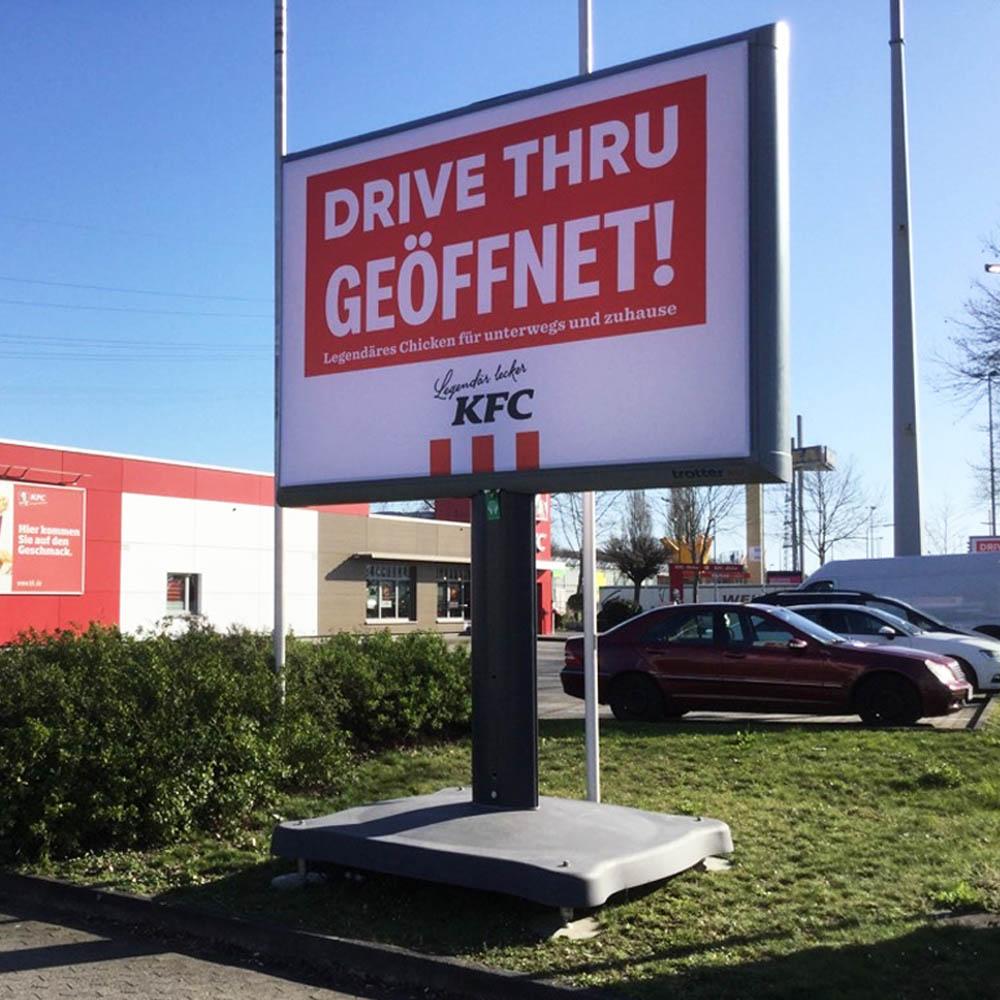 kampagne KFC Trotter kampagne deutschland