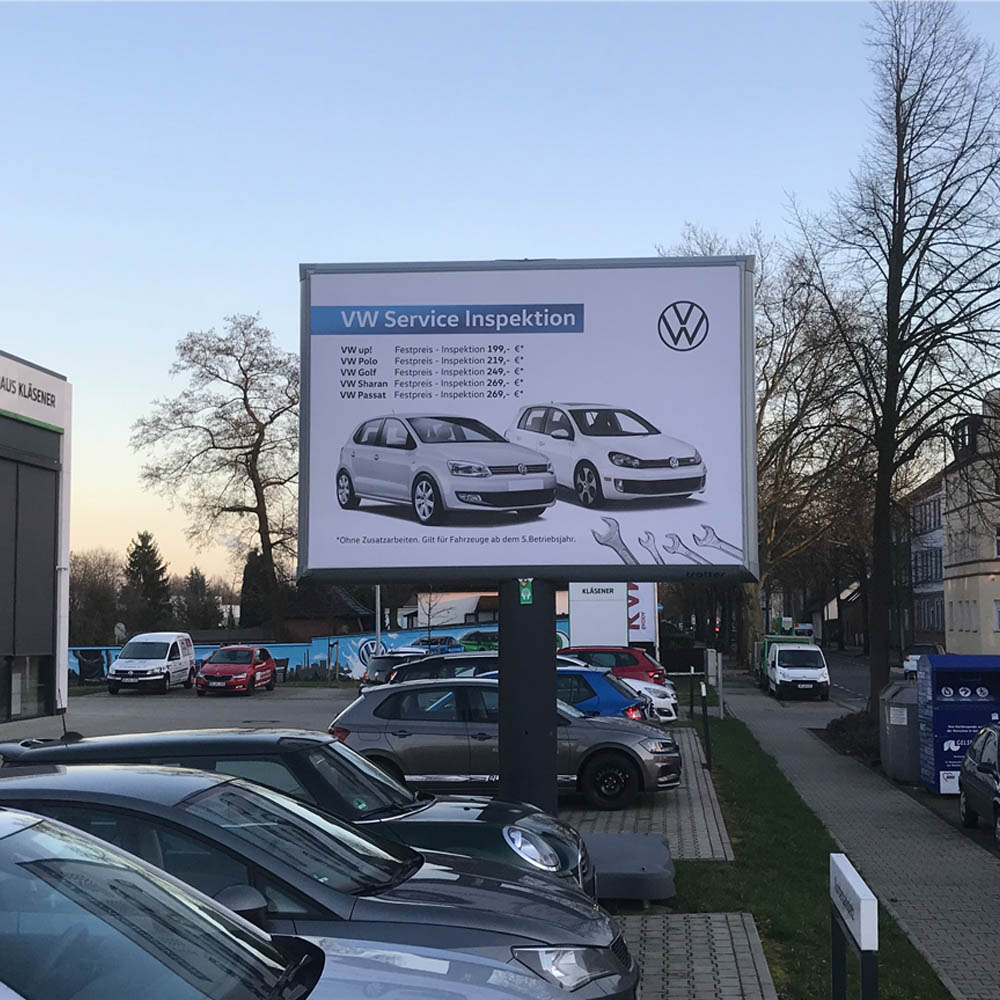 Kläsener kampagne lagerverkauf VW Service 1000x1000