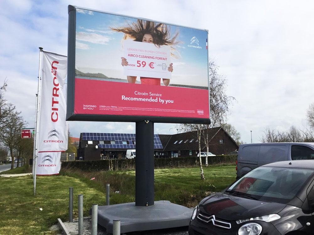 PSA aftersales citroën trotter billboard