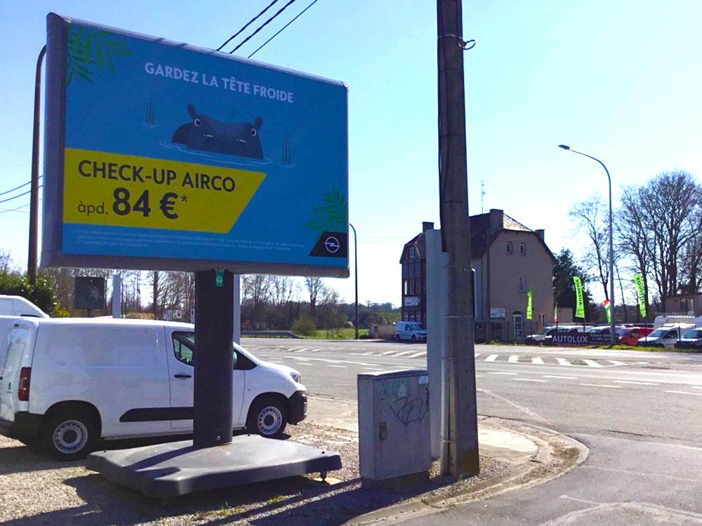 PSA aftersales opel trotter billboard