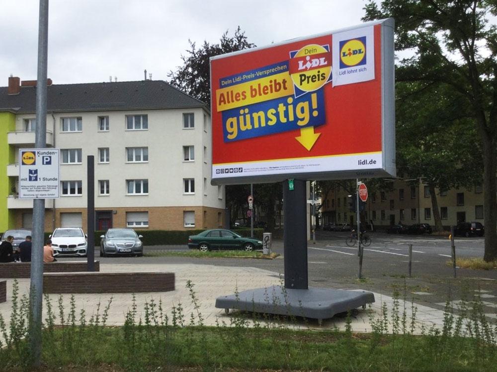 Kampagne LIDL Trotter Deutschland aussenwerbung 2 1000x750