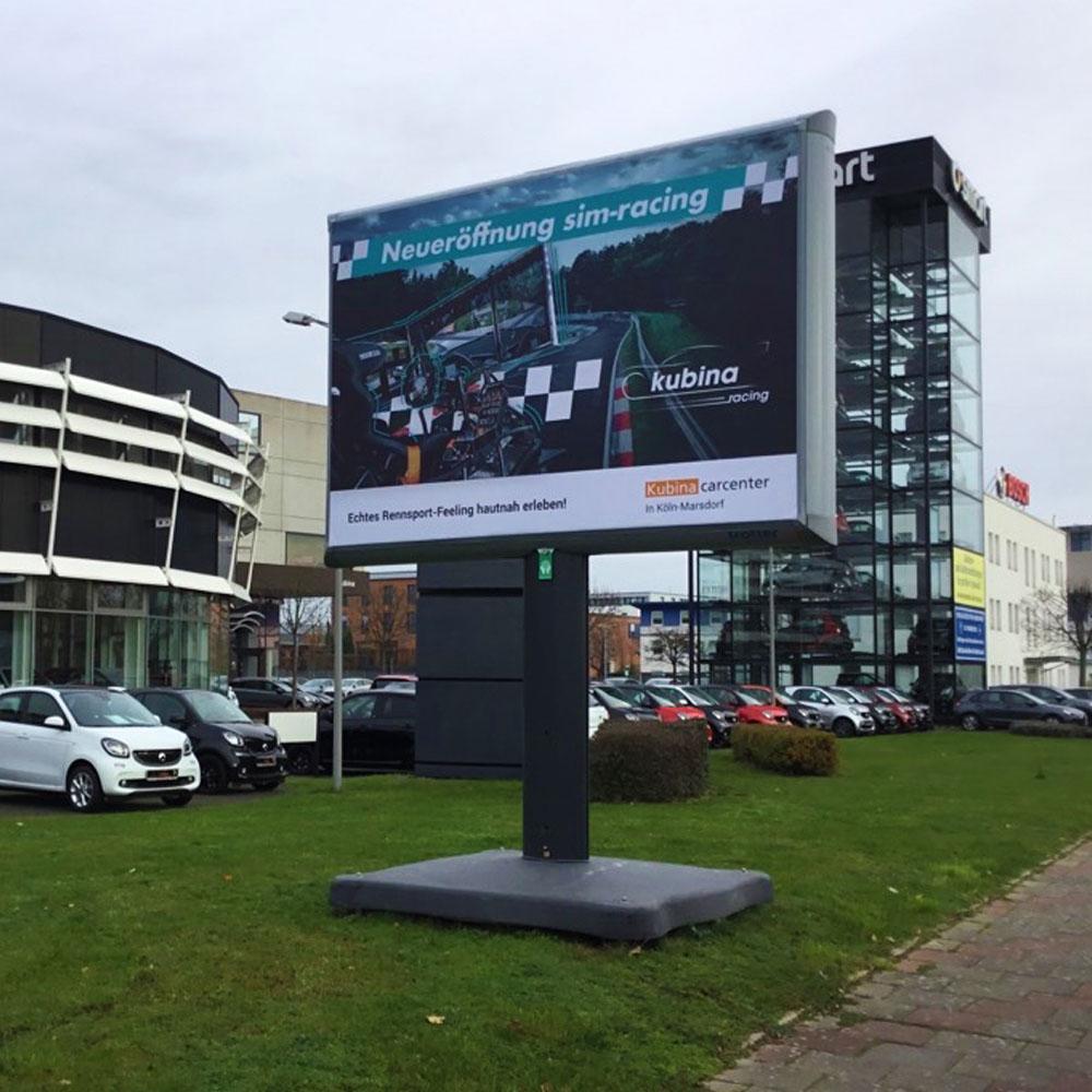 Trotter kampagne kubina carcenter aussenwerbung werbeflache 1000x1000