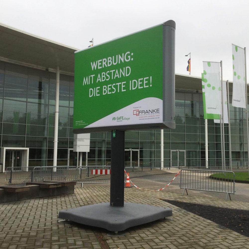 Kampagne Messe Köln aussenwerbung dauerwerbung Trotter billboards 1000x1000